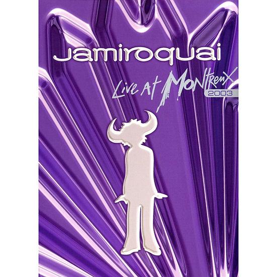 傑米羅奎爾:瑞士蒙特勒現場演唱會 2003 Jamiroquai: Live @ Montreux 2003 (DVD) 【Evosound】