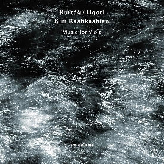 庫爾塔克&李格第:給中提琴的歌|中提琴:金.卡許卡湘 (CD) 【ECM】