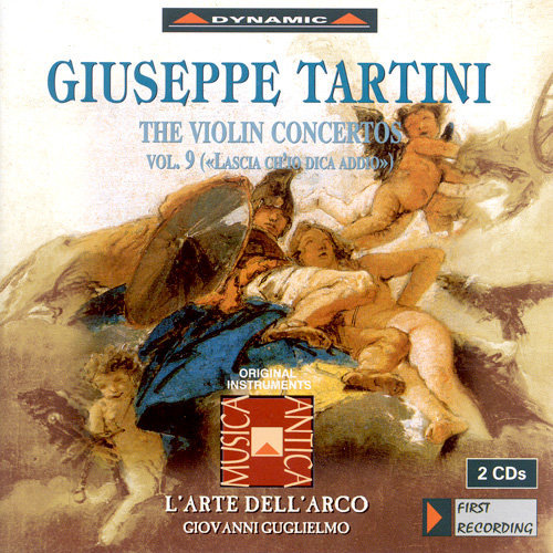 流浪小提琴家塔替尼:小提琴協奏曲全集9 Tartini: The Violin Concertos Volume 9 (2CD)【Dynamic】