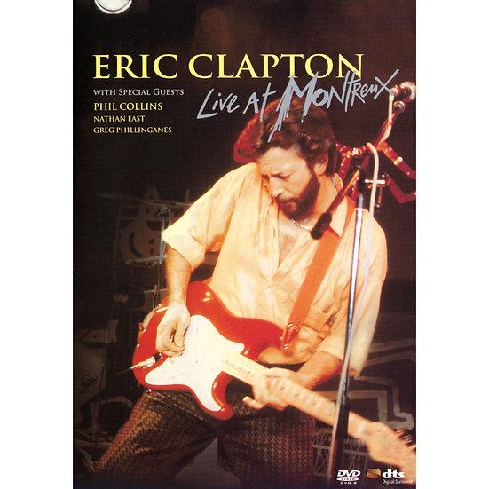 艾瑞克.克萊普頓:蒙特勒現場 Eric Clapton: Live at Montreux 1986 (DVD) 【Evosound】