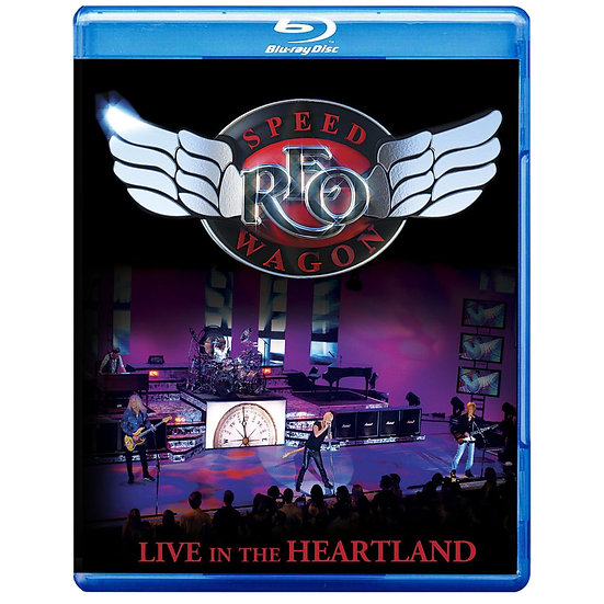 快速馬車合唱團:心臟地帶演唱會 REO Speedwagon: Live In The HEARTLAND (藍光blu-ray) 【Evosound】