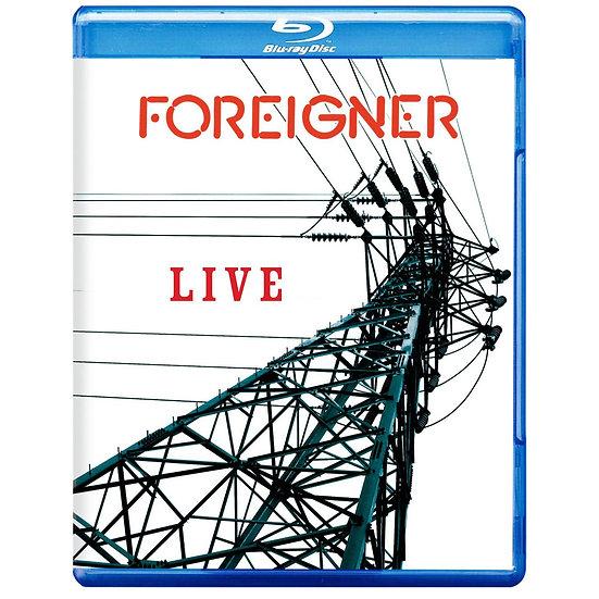 外國人樂團:外國人LIVE演唱會 Foreigner: Foreigner Live (藍光blu-ray) 【Evosound】