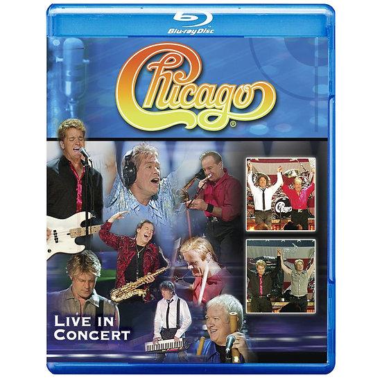 芝加哥合唱團:Live現場 Chicago: Live In Concert (藍光blu-ray) 【Evosound】