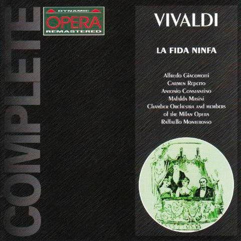 韋瓦第:歌劇《忠誠的仙女》 Antonio Vivaldi: La Fida Ninfa (2CD)【Dynamic】