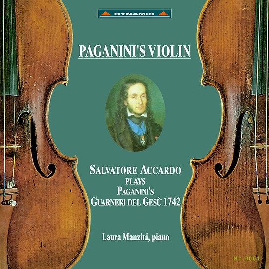 帕格尼尼 名琴加農砲 Paganini's Violin (2Vinyl LP)【Dynamic】