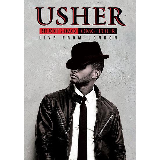 亞瑟小子:2011年OMG倫敦O2演唱會 Usher: OMG Tour Live at the O2 London (DVD) 【Evosound】