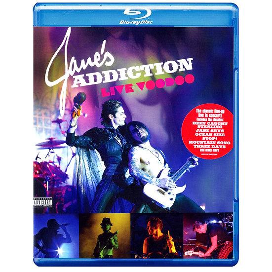 Jane's Addiction:巫毒節現場 Live Voodoo (藍光Blu-ray) 【Evosound】