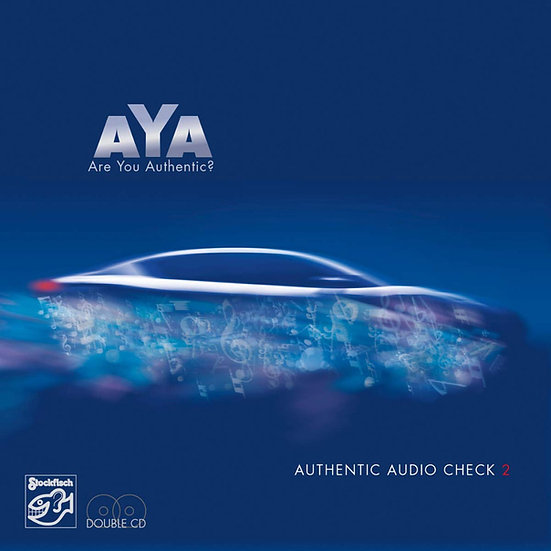 AYA:超權威音響測試天碟2 AYA: Authentic Audio Check 2 (2CD) 【Stockfisch】