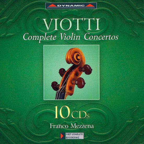 維歐提:小提琴協奏曲全集 Viotti: The complete Violin Concertos (10CD)【Dynamic】