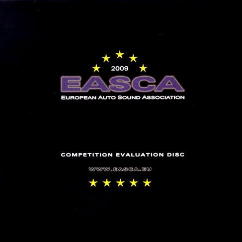 2009年歐洲車用音響測試片 EASCA competition evaluation disc (CD) 【Stockfisch】