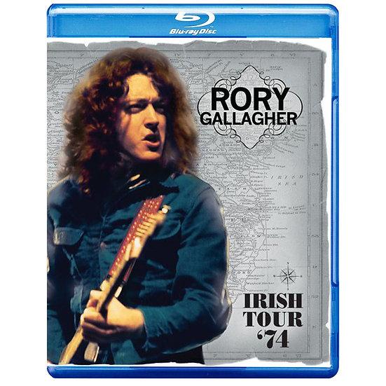 洛瑞.蓋勒許:愛爾蘭之旅 Rory Gallagher: Irish Tour '74 (藍光Blu-ray) 【Evosound】