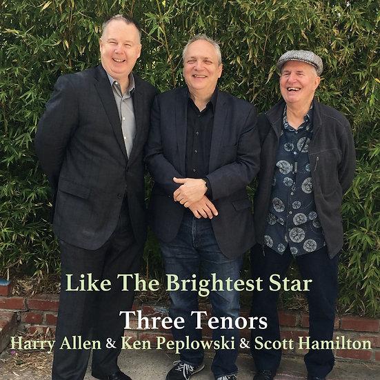 三大次中音薩克手:最閃亮的星 Three Tenors: Like The Brightest Star (Vinyl LP) 【Venus】