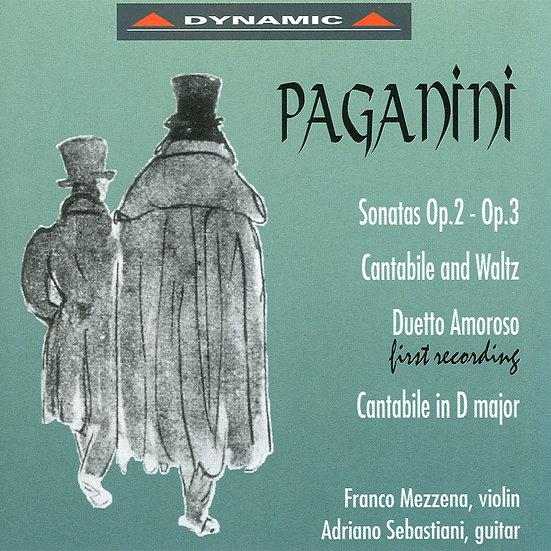 帕格尼尼:小提琴與吉他奏鳴曲3 (CD)【Dynamic】