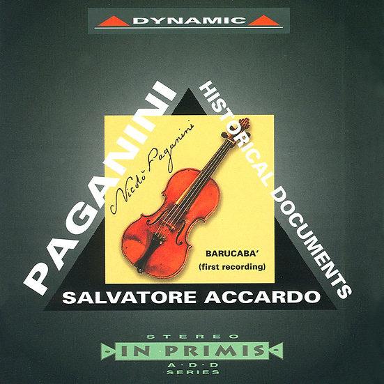 帕格尼尼:名琴的故事 – 加農砲 Nicolo Paganini: Historical Documents (CD)【Dynamic】