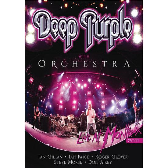 深紫色樂團與交響樂團:蒙特勒 (DVD) 【Evosound】