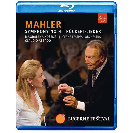 馬勒:第四號交響曲&呂克特之歌~阿巴多指揮琉森節慶管弦樂團 (藍光Blu-ray) 【EuroArts】