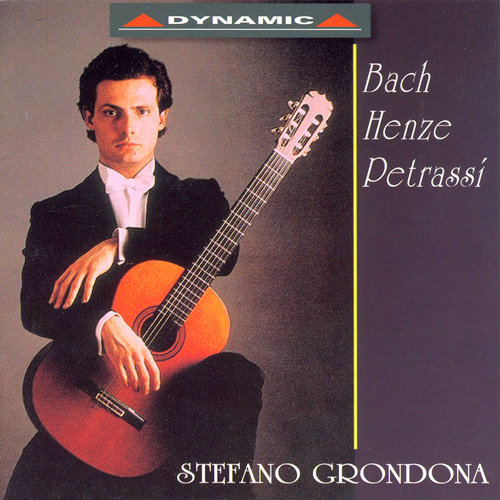 歌倫多納吉他秀演集 Stefano Grondona: Guitar Works by Bach, Henze, Petrassi (CD)【Dynamic】