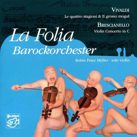 佛利亞巴洛克樂團:韋瓦第「四季」 (SACD) 【Stockfisch】