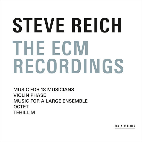 Steve Reich Ensemble: The ECM Recordings (3CD) 【ECM】