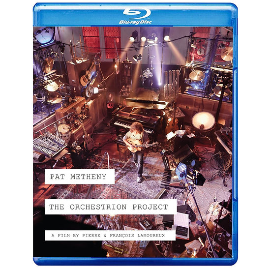 派特.麥席尼:樂團自動化 Pat Metheny: The Orchestrion Project (3D藍光Blu-ray) 【Evosound】