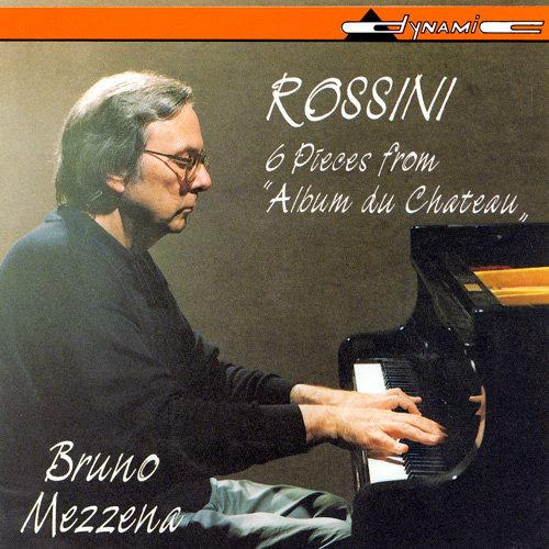 "羅西尼:鋼琴小品選 ROSSINI: 6 Peches ""Album de chateau"" (CD)【Dynamic】"