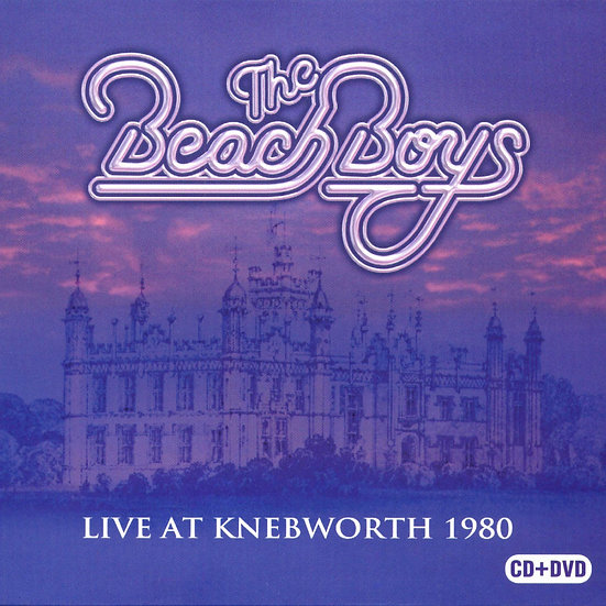海灘男孩:Knebworth最後一夜演唱會 Beach Boys: Live at Knebworth 1980 (CD+DVD) 【Evosound】