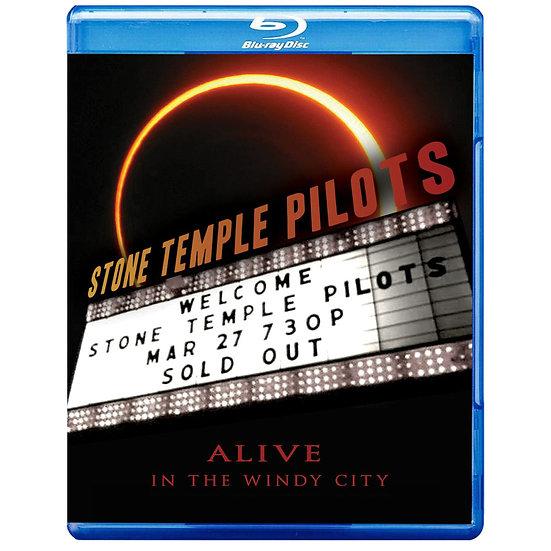 石廟嚮導合唱團:風城再生 Stone Temple Pilots: Alive In The Windy City (藍光Blu-ray) 【Evosound】