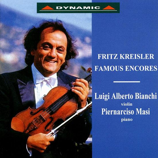 克萊斯勒:安可名曲 Fritz Kreisler: Famous Encores (CD)【Dynamic】