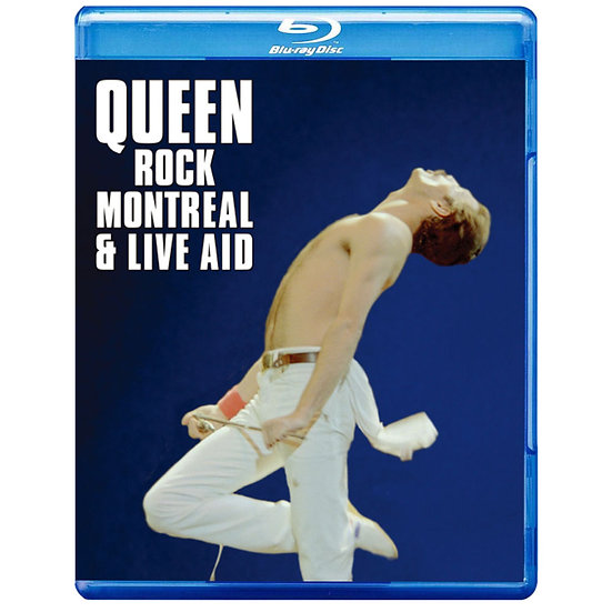 皇后樂團:蒙特婁現場演唱會 Queen: Rock Montreal & Live Aid (藍光Blu-ray) 【Evosound】
