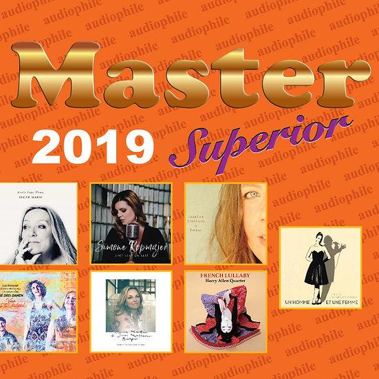 Master發燒碟2019 Master Superior Audiophile 2019 (CD) 【Master】