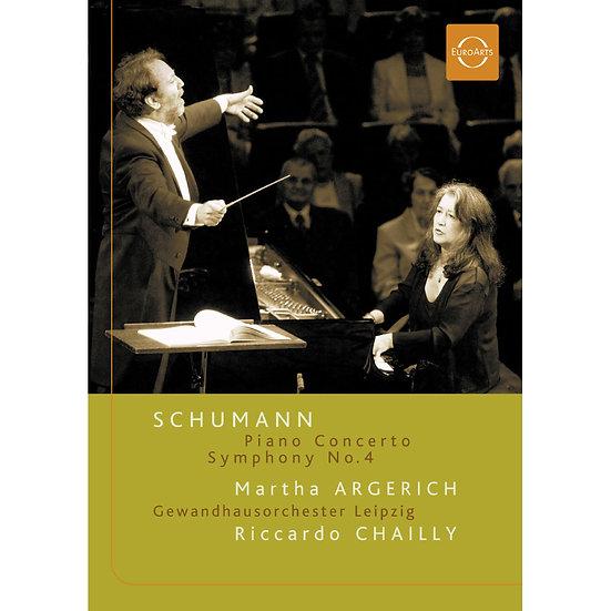 阿格麗希的舒曼之夜~舒曼逝世150週年紀念音樂會 Schumann: Argerich & Chailly (DVD) 【EuroArts】