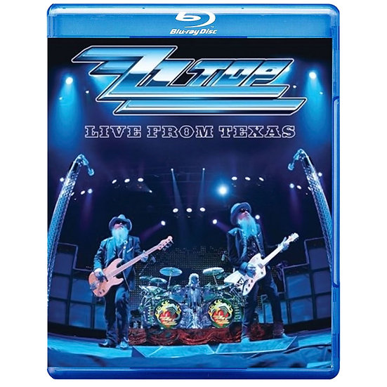 ZZ TOP合唱團:德州現場演唱會 ZZ Top: Live from Texas (藍光Blu-ray) 【Evosound】