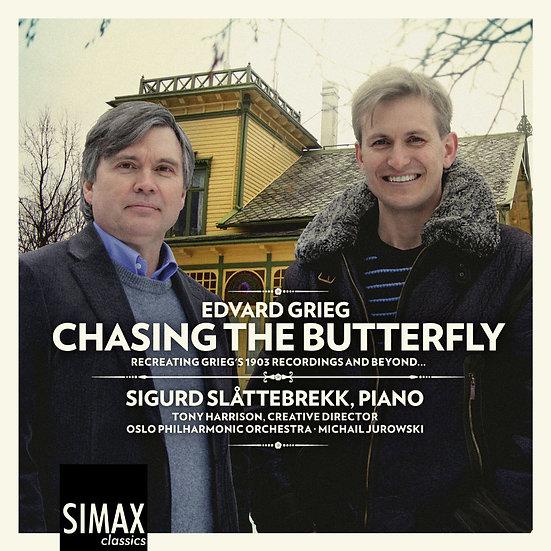 蝶影飛舞~追尋葛利格|鋼琴:希格德.詩拉特布雷克 Chasing the Butterfly (2CD) 【Simax Classics】