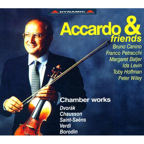 熱情邀約 – 阿卡多與他的朋友 Accardo and Friends - Chamber Works (4CD)【Dynamic】