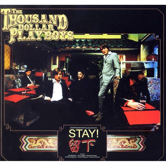 千元鈔花花公子樂團:留下 The Thousand Dollar Playboys: Stay (CD)