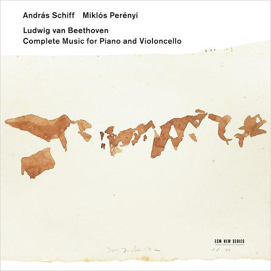 貝多芬:鋼琴與大提琴作品全集|鋼琴:席夫/大提琴:斐瑞尼 (2CD) 【ECM】