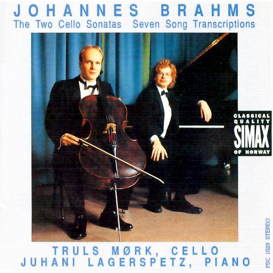 布拉姆斯:大提琴奏鳴曲|大提琴:莫克 (CD) 【Simax Classics】