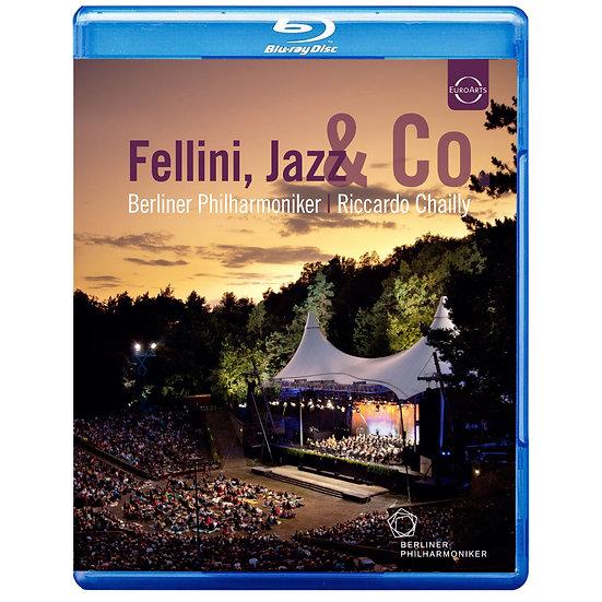 電影之夜~2011年溫布尼音樂會 費里尼、爵士&羅馬想像 (藍光Blu-ray) 【EuroArts】
