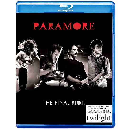 帕拉摩爾:最後的爆動 Paramore: The Final Riot! (藍光Blu-ray) 【Evosound】