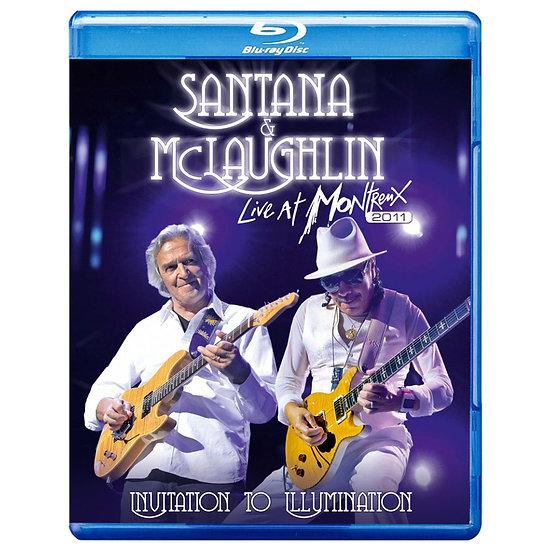聖塔納和麥克勞克林:蒙特勒現場-邀光演唱會 (藍光Blu-ray) 【Evosound】