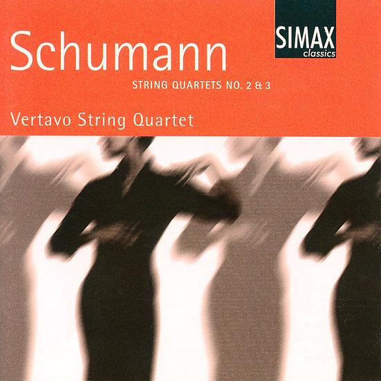 舒曼:第二、三號弦樂四重奏|維塔沃弦樂四重奏 Schumann: String Quartets No. 2 & 3 (CD) 【Simax Classics】