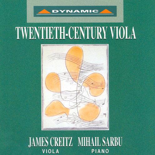20世紀中提琴名曲 Twentieth-century Viola (CD)【Dynamic】