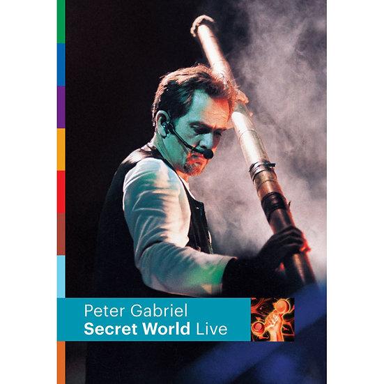 彼得.蓋布瑞爾:祕密國度 Peter Gabriel: Secret World (DVD) 【Evosound】