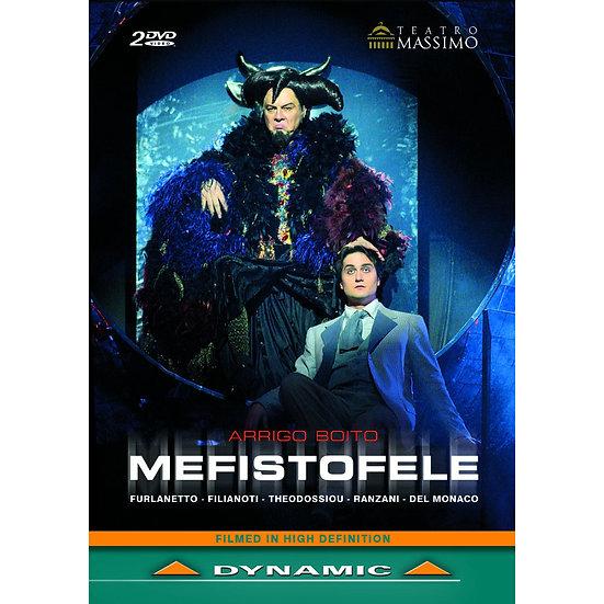 博伊托:歌劇《梅菲斯特費勒斯》 Arrigo Boito: Mefistofele (2DVD)【Dynamic】