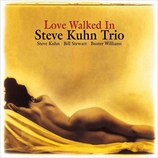 史帝夫.庫恩三重奏:悄悄接近的愛情 Steve Kuhn Trio: Love Walked In (CD) 【Venus】