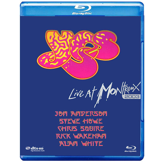 YES合唱團:瑞士蒙特勒現場演唱會 YES: Live at Montreux 2003 (藍光Blu-ray) 【Evosound】