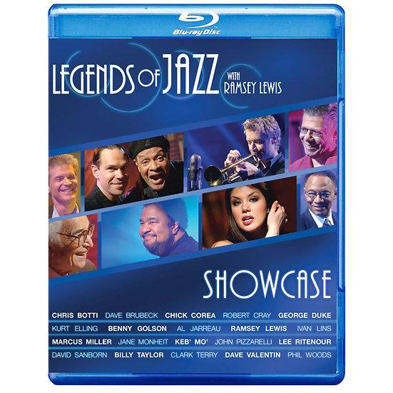 SHOWCASE 爵士樂傳說 雷西路易斯 (藍光Blu-ray) 【Evosound】
