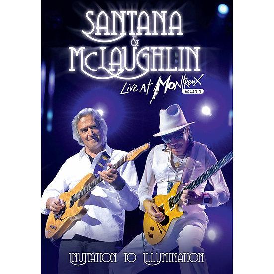 聖塔納和麥克勞克林:蒙特勒現場-邀光演唱會 (DVD) 【Evosound】
