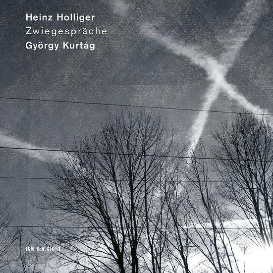 亨氏.霍利格/捷爾吉.庫爾塔克 Heinz Holliger / György Kurtág: Zwiegespräche (CD)【ECM】