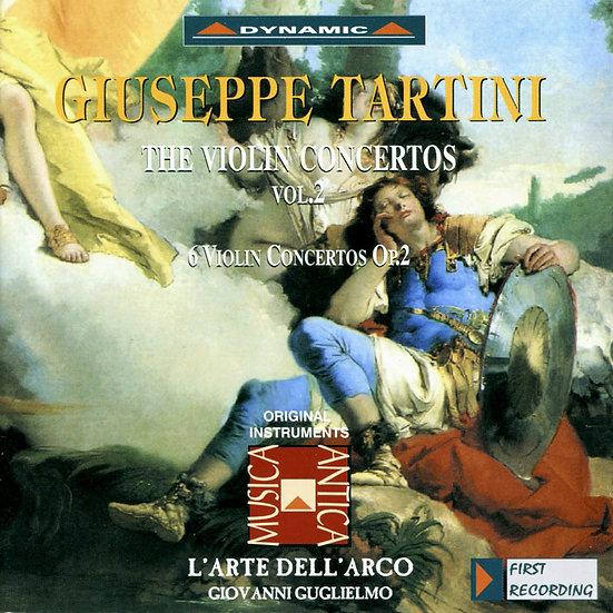 流浪小提琴家塔替尼:小提琴協奏曲全集2 Tartini: The Violin Concertos Volume 2 (2CD)【Dynamic】
